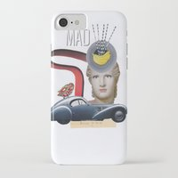 mad iPhone & iPod Cases featuring mad by fromdelphine