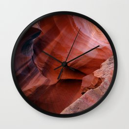 Antelope canyon Wall Clock