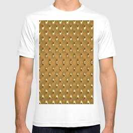 Luxury Golden Leather vector new design T-shirt