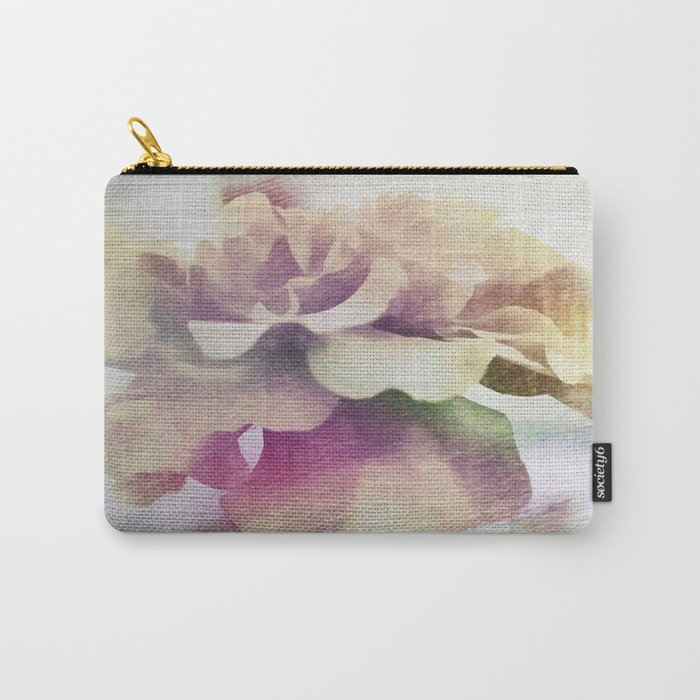 Moonlit Floral Abstract Carry-All Pouch