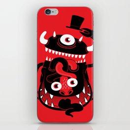 Mister Monster iPhone Skin