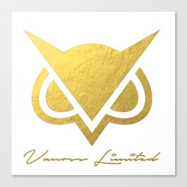 Limited Edition - Vanoss || Gold Logo Canvas Print