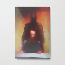 interrogation Metal Print