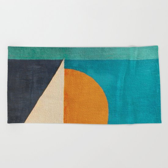 Regata al Tramonto Beach Towel