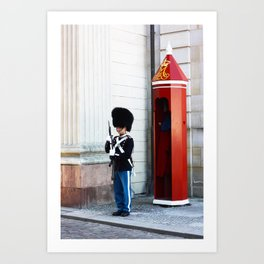 The tin soldier Art Print