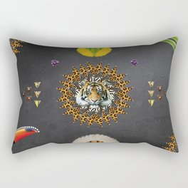 ▲ KWATOKO ▲ Rectangular Pillow