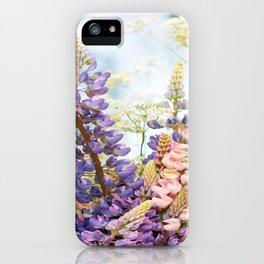 Summer Meadow Bouquet #decor #society6 #homedecor iPhone Case