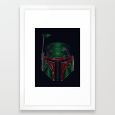 Star . Wars - Boba Fett Framed Art Print