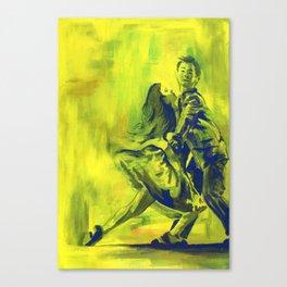 Swing Dancing! Canvas Print