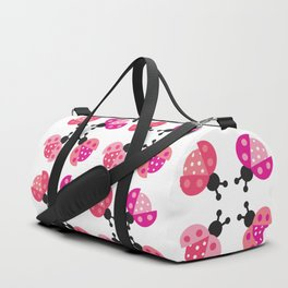 lady bug square dance Duffle Bag