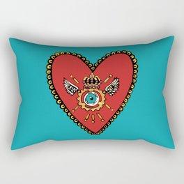 Sacred SteamHeart Rectangular Pillow