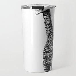 Ornate Giraffe Travel Mug