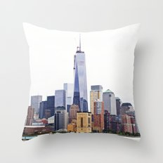 Freedom Tower New York City Throw Pillow