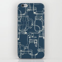 glass containers iPhone Skin