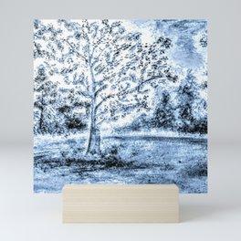 Blue Storm Mini Art Print