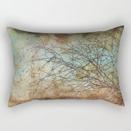 For the love of trees - textured photography Rectangular Pillow