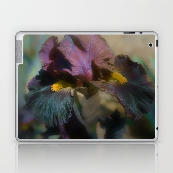 velvet iris Laptop & iPad Skin