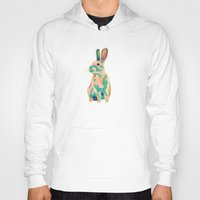 bunny Hoodies featuring Bunny by Sary and Saff