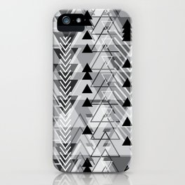 Triangle Tribe 5 iPhone Case