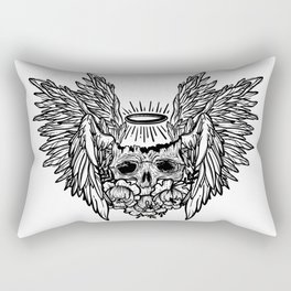 dead Angel. skull Rectangular Pillow