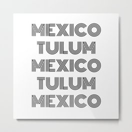 Mexico - Tulum - Favorite City - Beach Area - National Geography Metal Print
