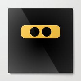 ninja eyes Metal Print