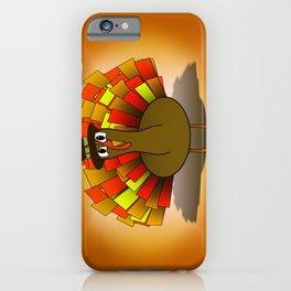 Thanksgiving Turkey Pilgrim iPhone Case