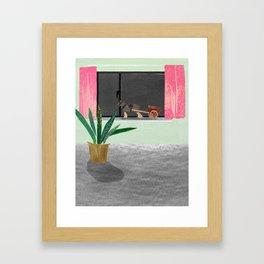 Grandad Jacks Horses Framed Art Print