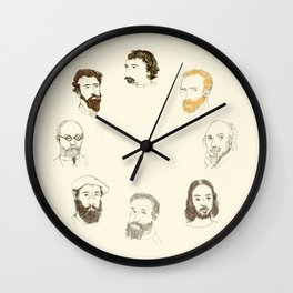 Painters & Co. Wall Clock