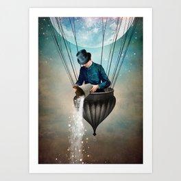 High in the Sky Art Print
