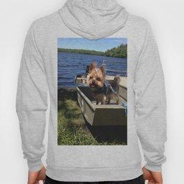 Puppy in a Boat Hoody