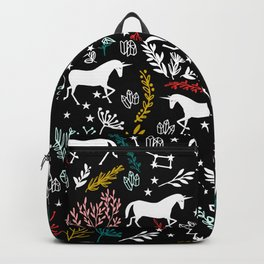 Magical Unicorn and Star Constellations Backpack