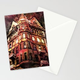 Nightmares at the Haunted Hotel Stationery Cards
