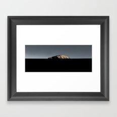 Mountain in Atacama Framed Art Print