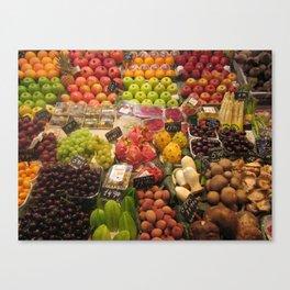 Fruits and Veggies Canvas Print