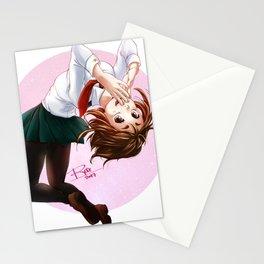 Uraraka Ochako from My Hero Academia Stationery Cards