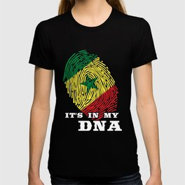 Senegal - ItS In My Dna T-shirt