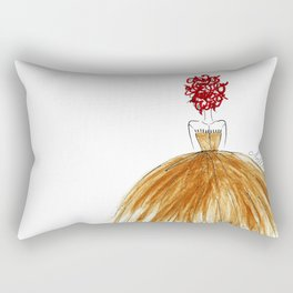 Not Your Everyday Ginger Rectangular Pillow
