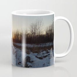Winter Sunset - I Coffee Mug