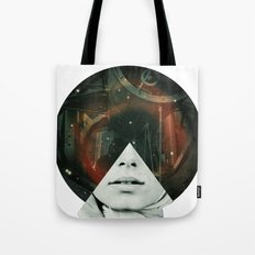 Look into the stars Tote Bag