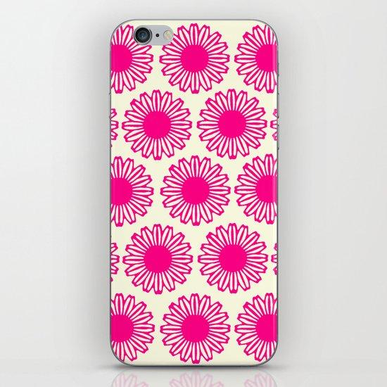 vintage flowers pink  iPhone & iPod Skin