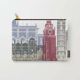 Krakow skyline poster Carry-All Pouch