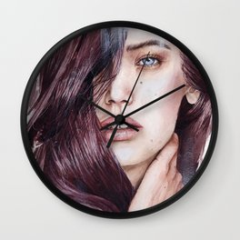 She's a moose. You're a chipmunk. Wall Clock