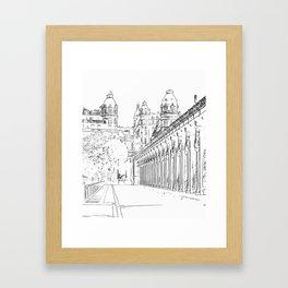 Pont de Bir-Hakeim - Paris, France Framed Art Print