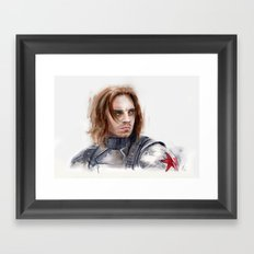 Who the hell is Bucky Framed Art Print