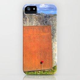 Lewis War Memorial, Stornoway iPhone Case