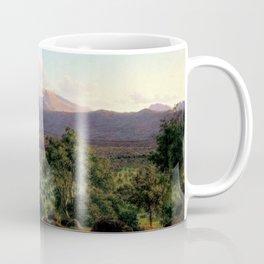 Mount William from Mount Dryden by Eu von Guerard Date 1857  Romanticism  Landscape Coffee Mug