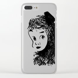 shy. Clear iPhone Case