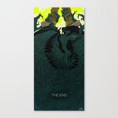The End (Part 2) Canvas Print