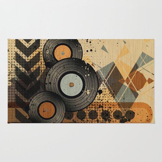Retro Vinyl. Rug